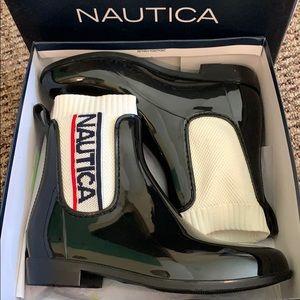 NWT trendy Nautica Rainboots